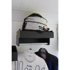 Rack For 1 Helmet with clothes rack