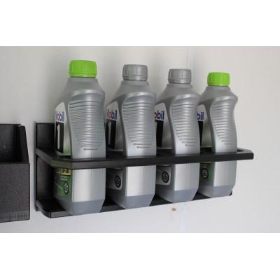4 QT Oil Holder (Rectangle Bottles) Open Face