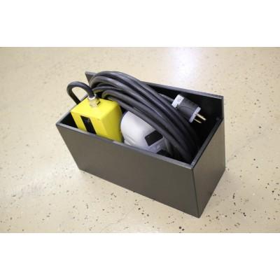 Bracket for Hurst eDraulic 110V cord (wall or floor mount)