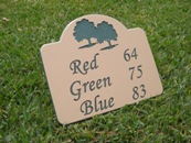Engraved Sign Colors