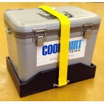 Holds 12QT Cool Shirt Cooler (With Strap)